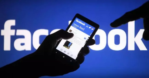 Facebook en un móvil