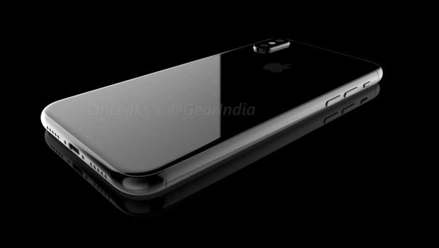 Parte trasera del iPhone 8