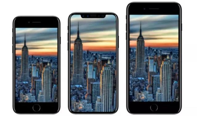 iPhone ocho vs iPhone 7