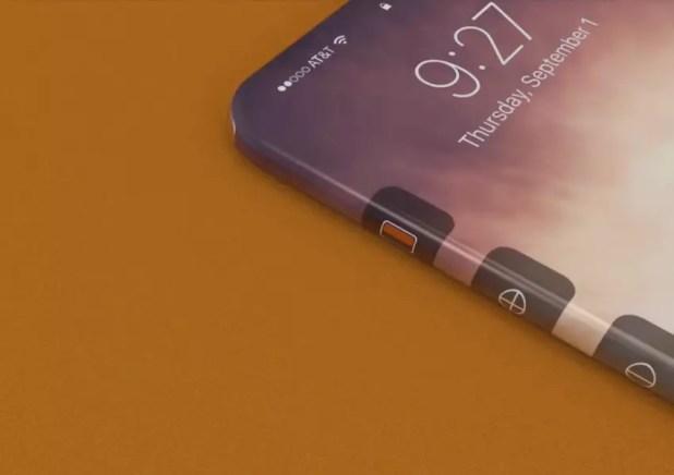 iPhone con pantalla en 360 grados