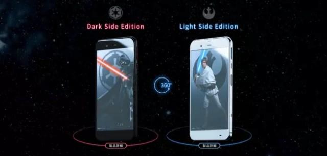 Móvil de Star Wars