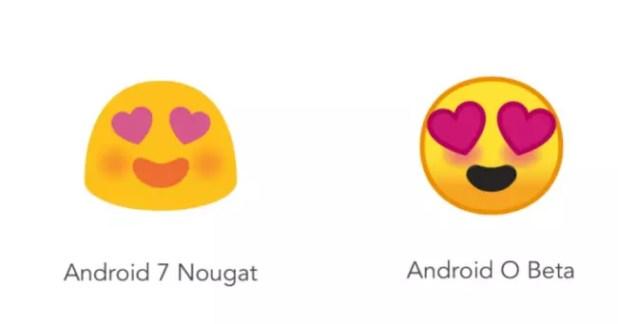 emojis de Android O