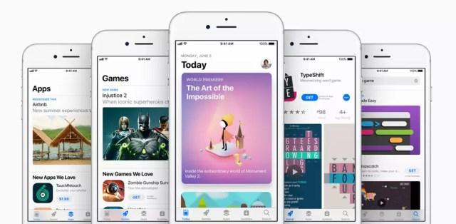 Renovación de la App Store con iOS 11