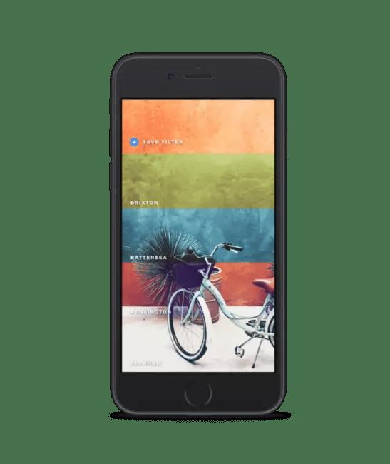 Editor con cientos de filtros gratis(free) para iOS