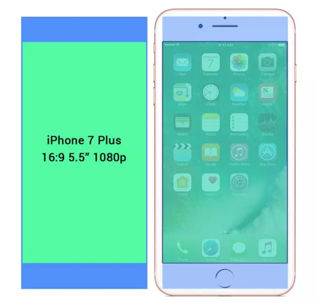 Pantalla del iPhone 8 de 6.5 pulgadas