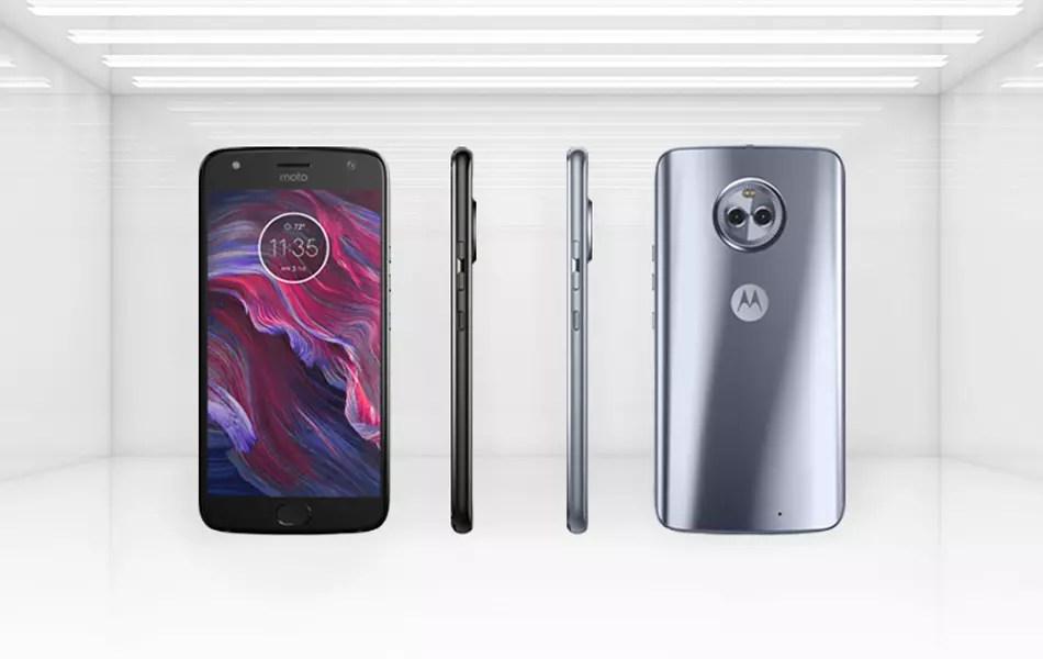 Características y layout del Motorola® Moto X4