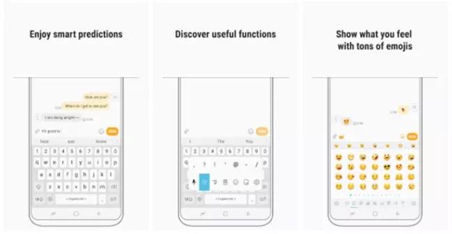 El teclado del Samsung Galaxy S8 llega a Google Play Store
