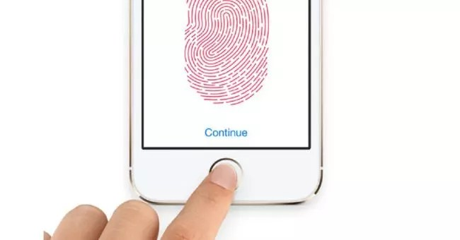 Touch ID del iPhone 8