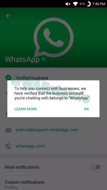 cuentas de negocios de WhatsApp