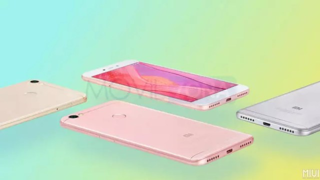 Xiaomi Redmi Note 5A dorado
