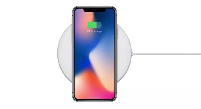 Carga inalámbrica rápida del iPhone 8 y iPhone X