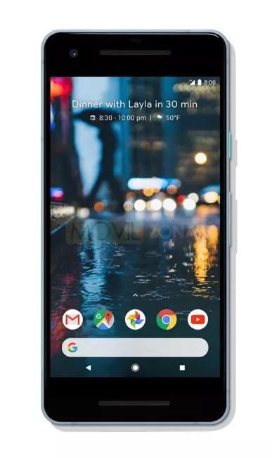 Google Pixel 2 XL frontal