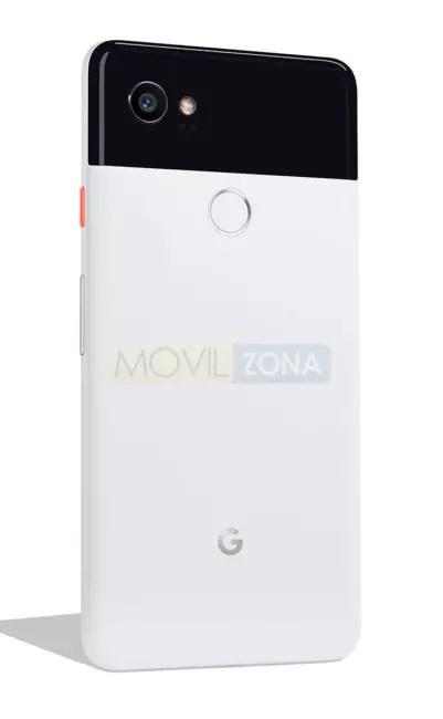 Google Pixel 2 XL blanco trasera