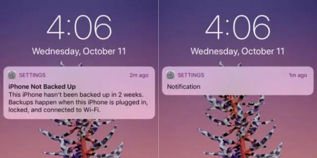 Nuevo sistema de notificaciones en iPhone X