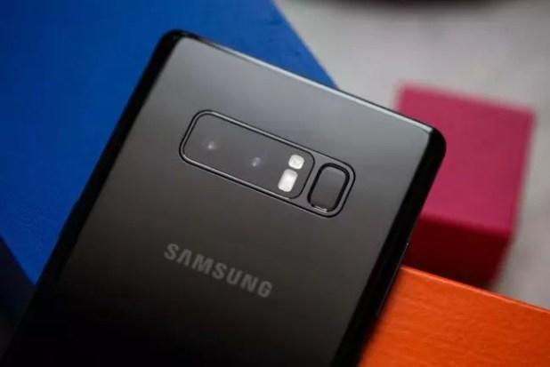 Cámara trasera del Samsung Galaxy Note 8