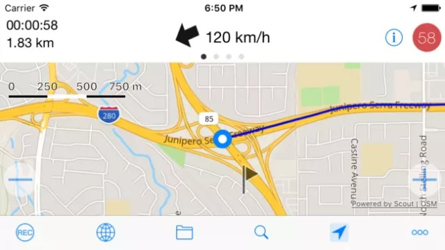 Imagen de Mytracks para iOS