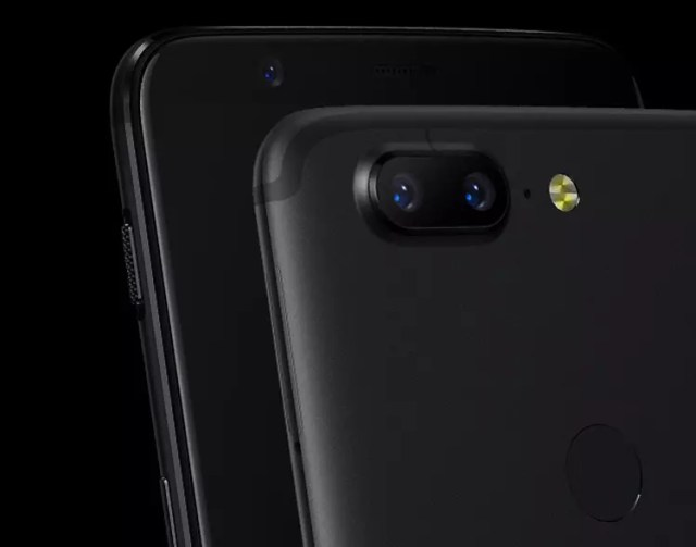 Doble cámara del OnePlus℗ 5T