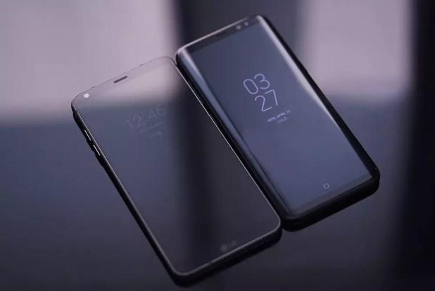 Smartphones de Samsung y LG
