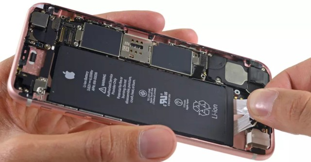 Batería de un iPhone