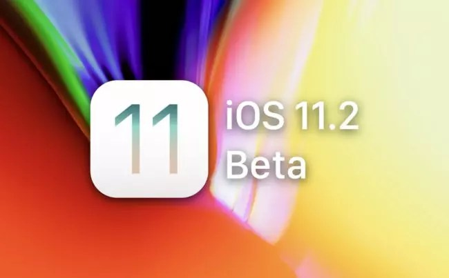 Logotipo de la beta de iOS® 11.2