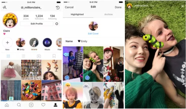 Historias destacadas para Instagram Stories