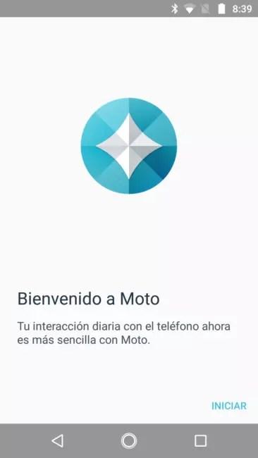App Moto del Motorola G5S