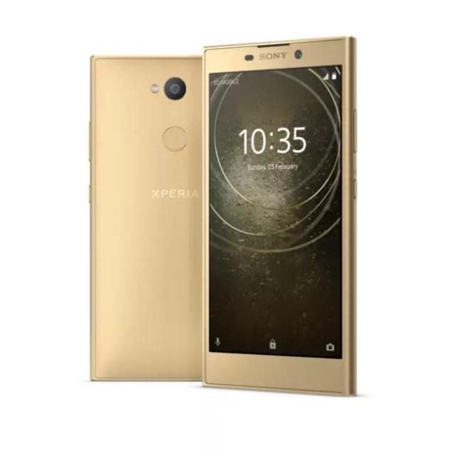 Sony Xperia(móvil) L2 en Oro