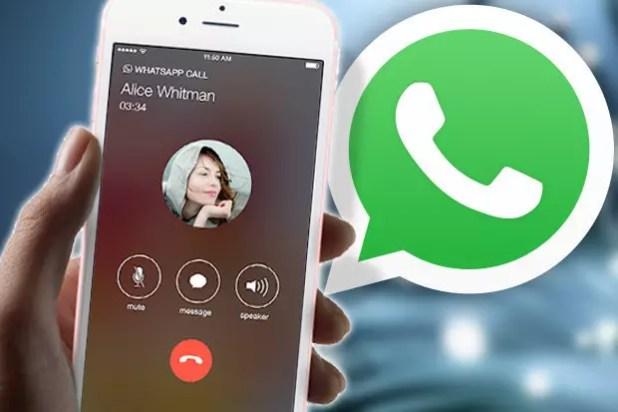 whatsapp call