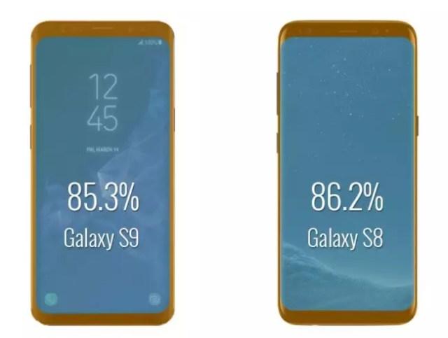 pantalla del Samsung℗ Galaxy℗ S9