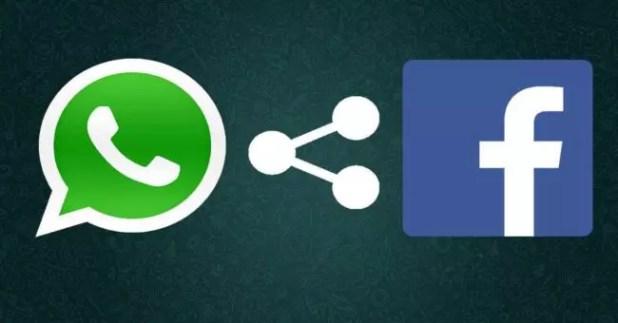 whatsApp y Facebook