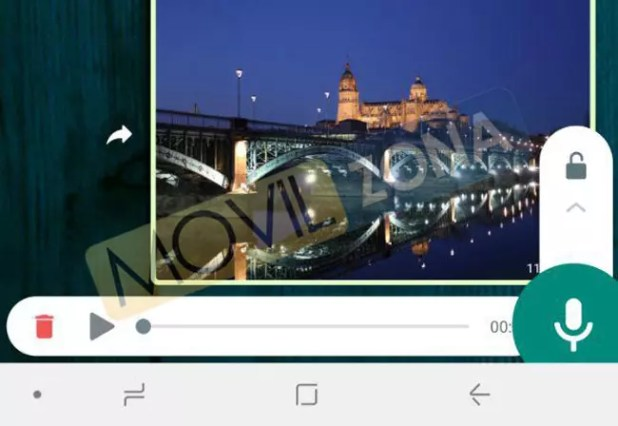 Herramienta de grabación de notas de voz de WhatsApp en Android