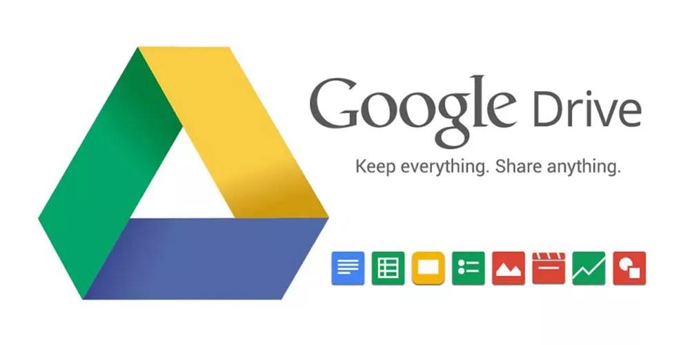 Icono y servicios asociados a Google Drive