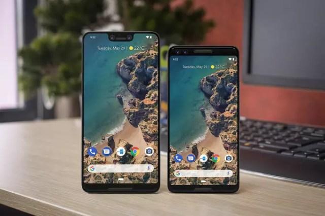 Google Pixel3-Pixel 3XL-concepto