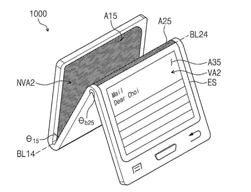 Este es el diseño del smartphone con pantalla flexible de