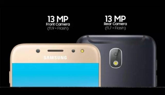 móviles con flash frontal -galaxy J7 Pro