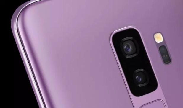 Cámara Galaxy S9+