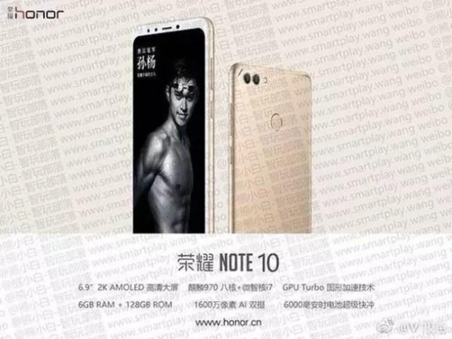 Honor Note 10-publicidad