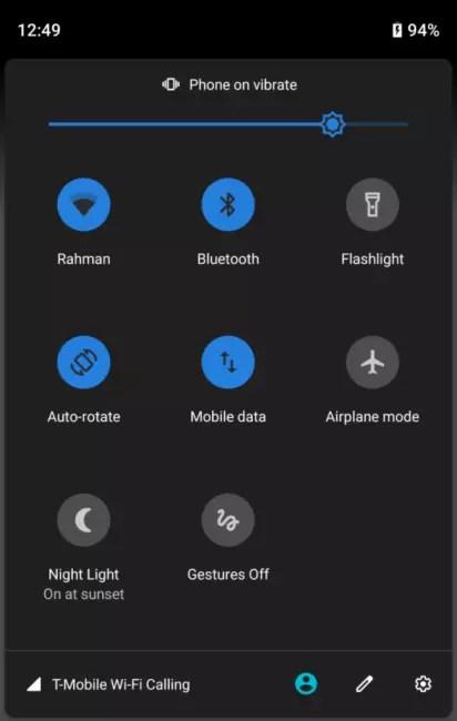 Android P Beta 3 Configuración rápida