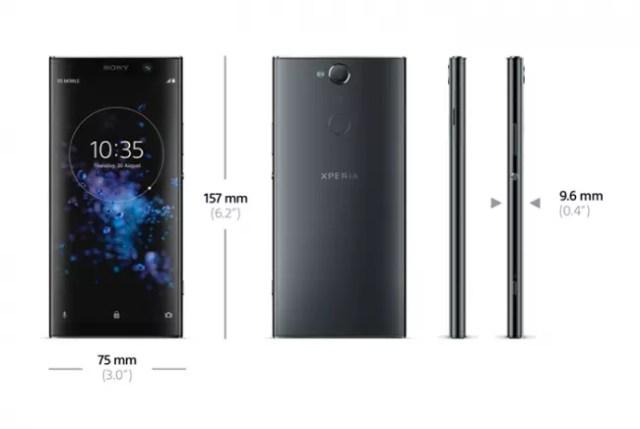 Sony Xperia(móvil) XA2 Plus