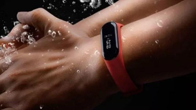 Xiaomi Mi Band 3-resitencia al agua