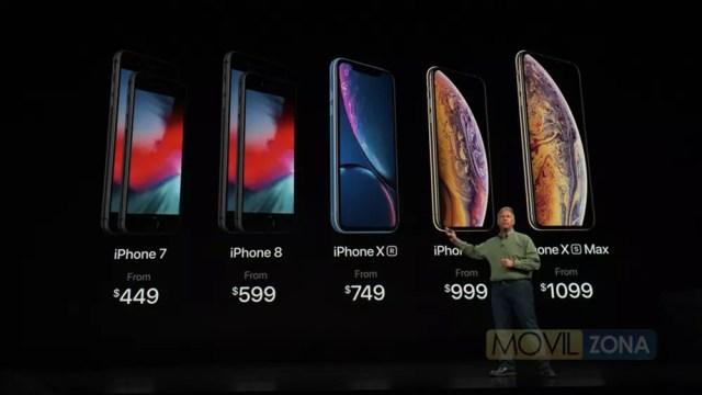 Precio de los nuevos iPhones de 2018