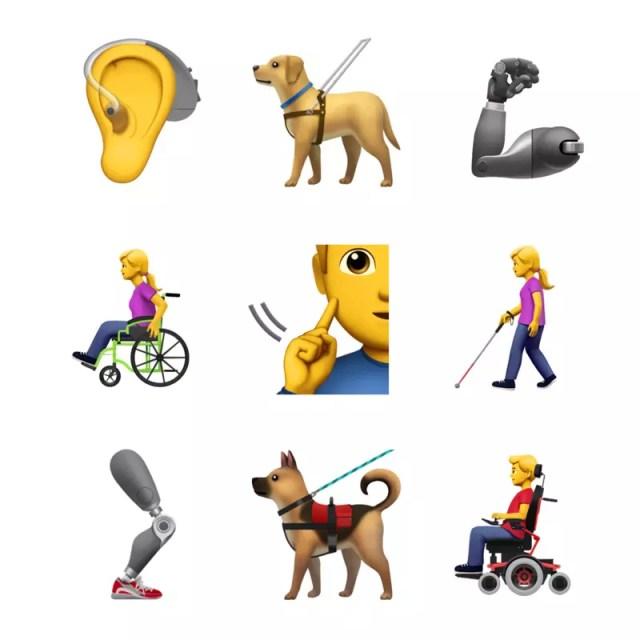 Emoticonos de Emoji 12