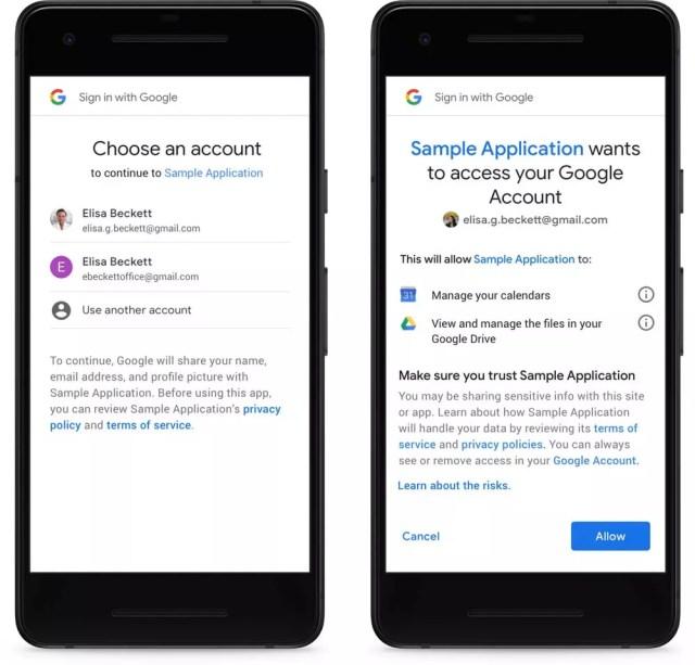 Solicitud de permisos de aplicaciones en Android