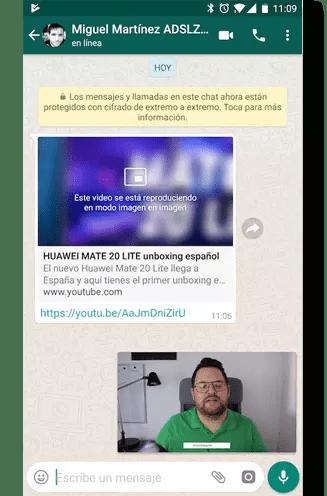 pip whatsapp Android