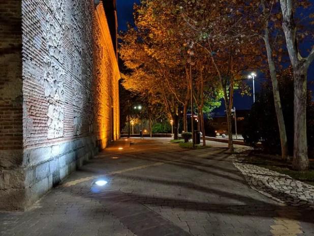 Foto tomada de noche con la cámara del Google Pixel 3 XL
