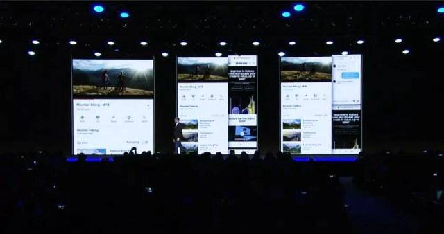Experiencia de uso de la multitarea en un smartmovil plegable de Samsung
