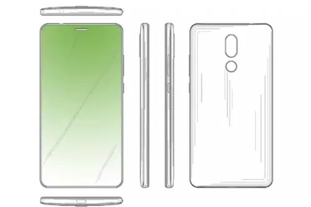 Patente cámara bajo pantalla de Huawei