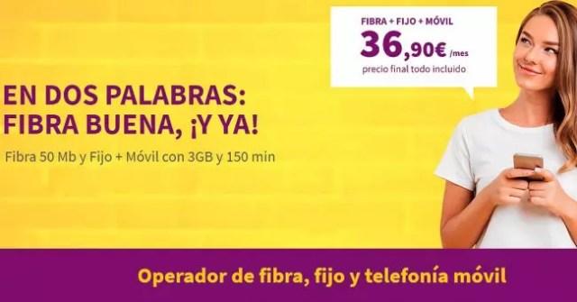 Oferta tasa combinada de Llamaya