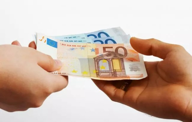 pagando en euros