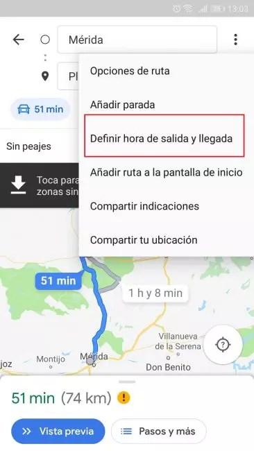 Google Maps novedad